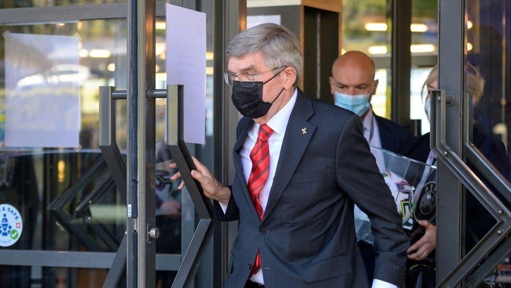 IOC-Präsident Thomas Bach fordert Konsequenzen beim DOSB - Bildquelle: AFPSIDFABRICE COFFRINI