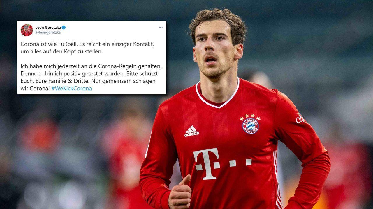 Nach Infektion: Bayern-Star Leon Goretzka mit Corona-Ansage - Bildquelle: imago