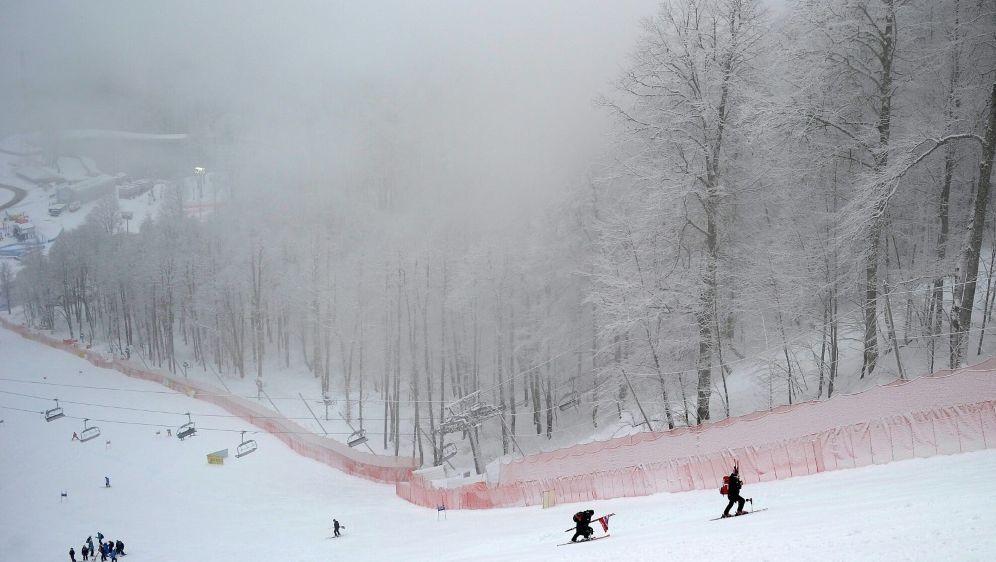 Programmänderung beim Ski-Weltcup in Rosa Chutor - Bildquelle: AFPSIDOLIVIER MORIN