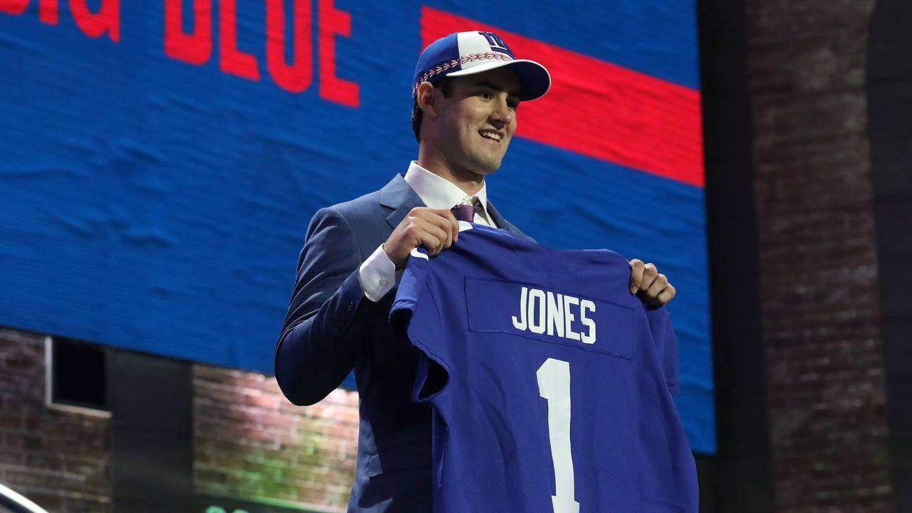 Daniel Jones (Quarterback, New York Giants) - Bildquelle: imago images / Icon SMI