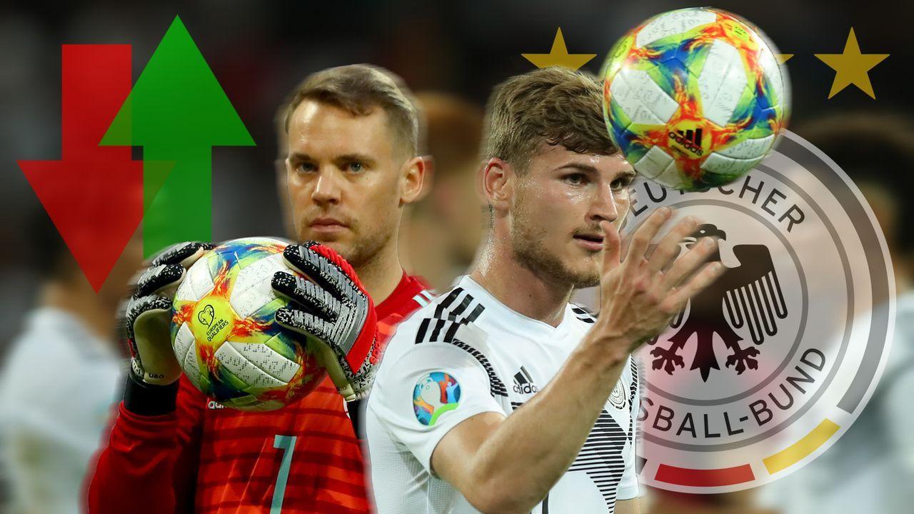 DFB: Gewinner und Verlierer der Juni-Länderspiele  - Bildquelle: Getty