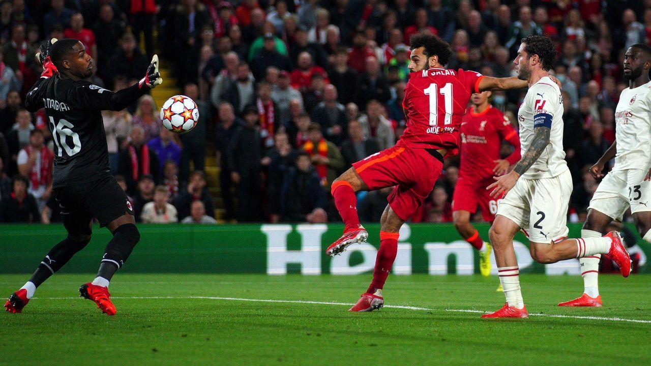 Salah gleicht aus - Bildquelle: 2021 imago
