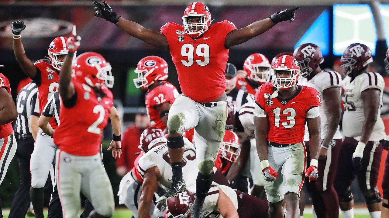 4. Georgia Bulldogs - Bildquelle: imago