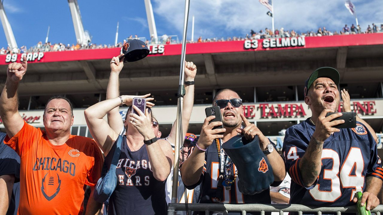 Platz 12: Chicago Bears  - Bildquelle: imago/ZUMA Press