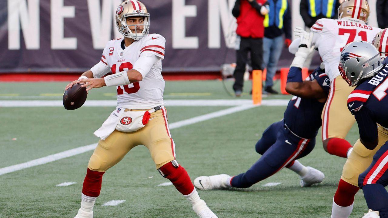 Jimmy Garoppolo (San Francisco 49ers) - Bildquelle: imago images/Icon SMI