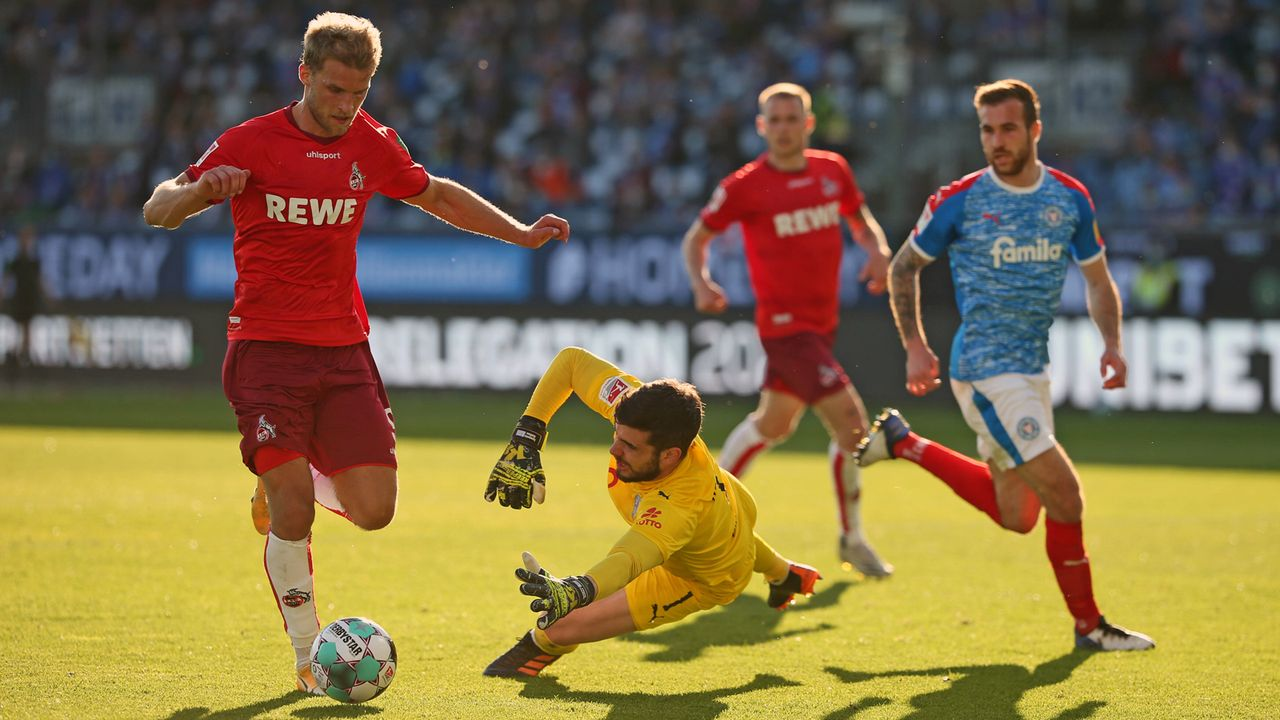 2021: 1. FC Köln vs. Holstein Kiel - Bildquelle: Imago