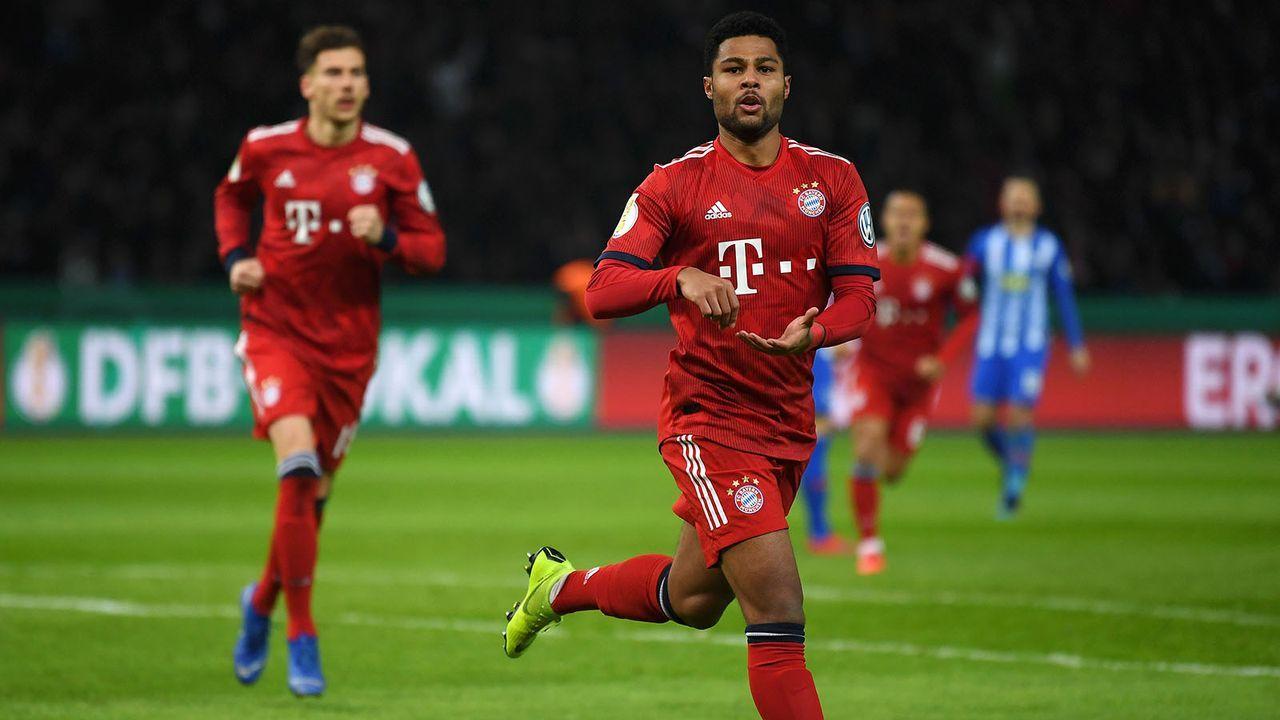 Gewinner: Serge Gnabry (Bayern München) - Bildquelle: 2019 Getty Images