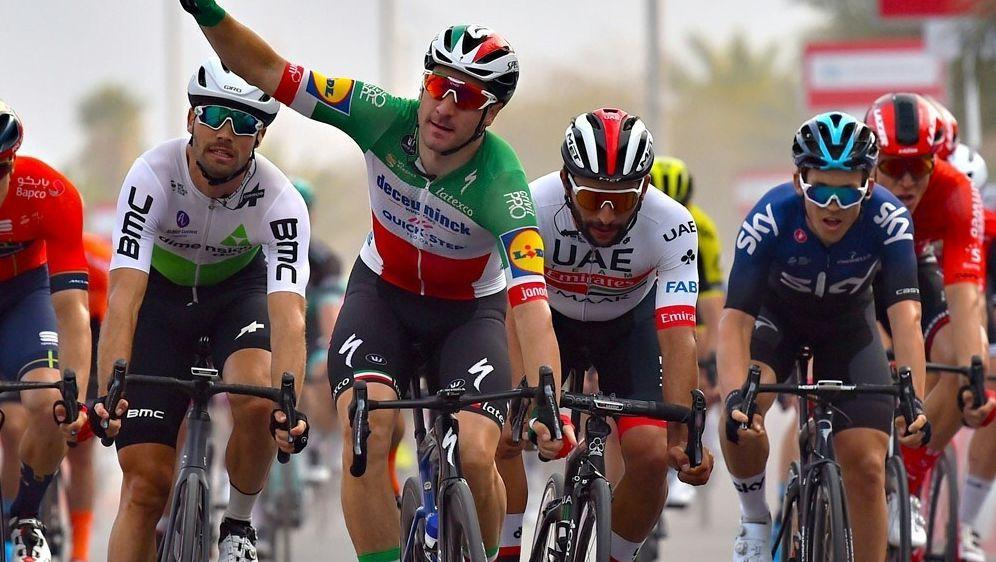 Tour de Suisse: Elia Viviani gewinnt die fünfte Etappe - Bildquelle: PIXATHLONPIXATHLONSID
