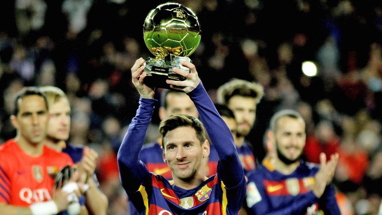 Fünffacher Weltfußballer - Bildquelle: imago