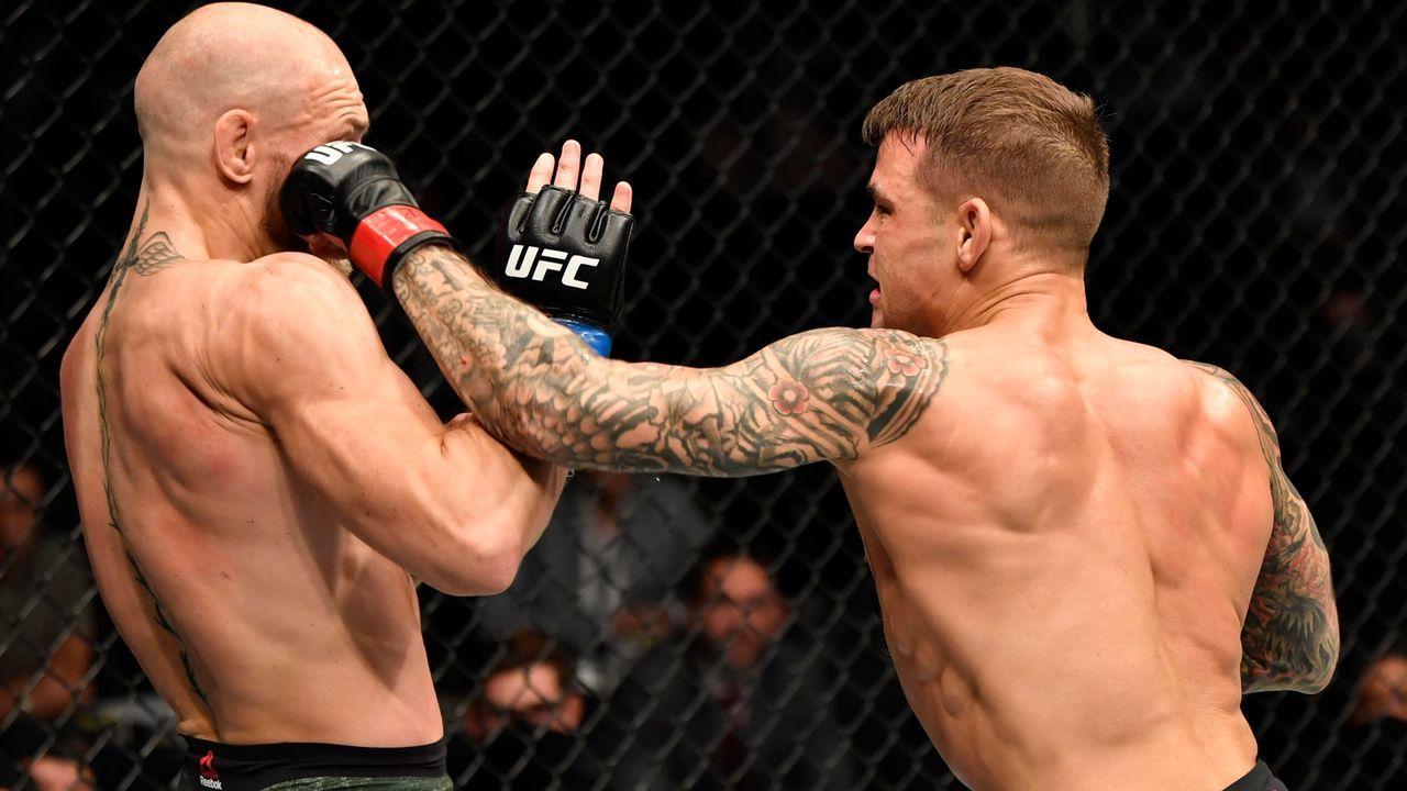 Technischer K.o.! Poirier knockt McGregor aus - Bildquelle: Getty