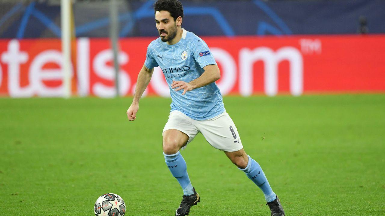 Mittelfeld: Ilkay Gundogan (Manchester City) - Bildquelle: imago images/Team 2