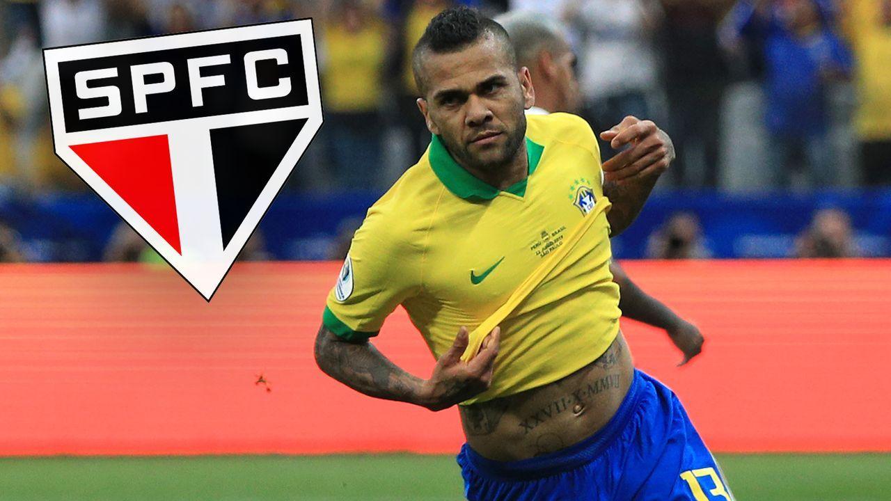 Dani Alves (FC Sao Paulo) - Bildquelle: Getty Images