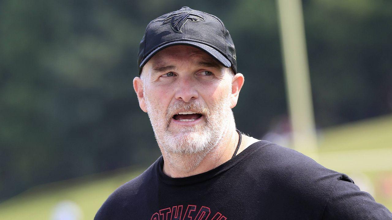 4. Dan Quinn (Atlanta Falcons)                               - Bildquelle: imago images / Icon SMI