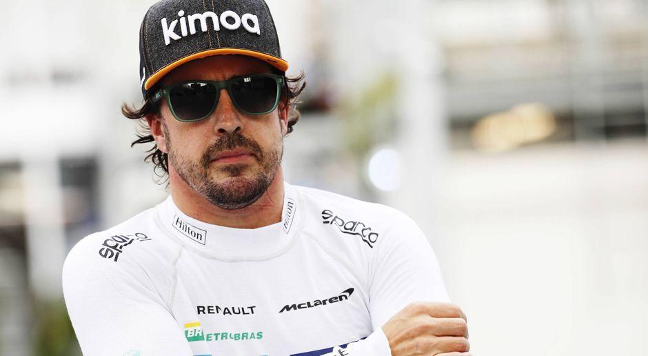 Fernando Alonso - Bildquelle: imago/Motorsport Images