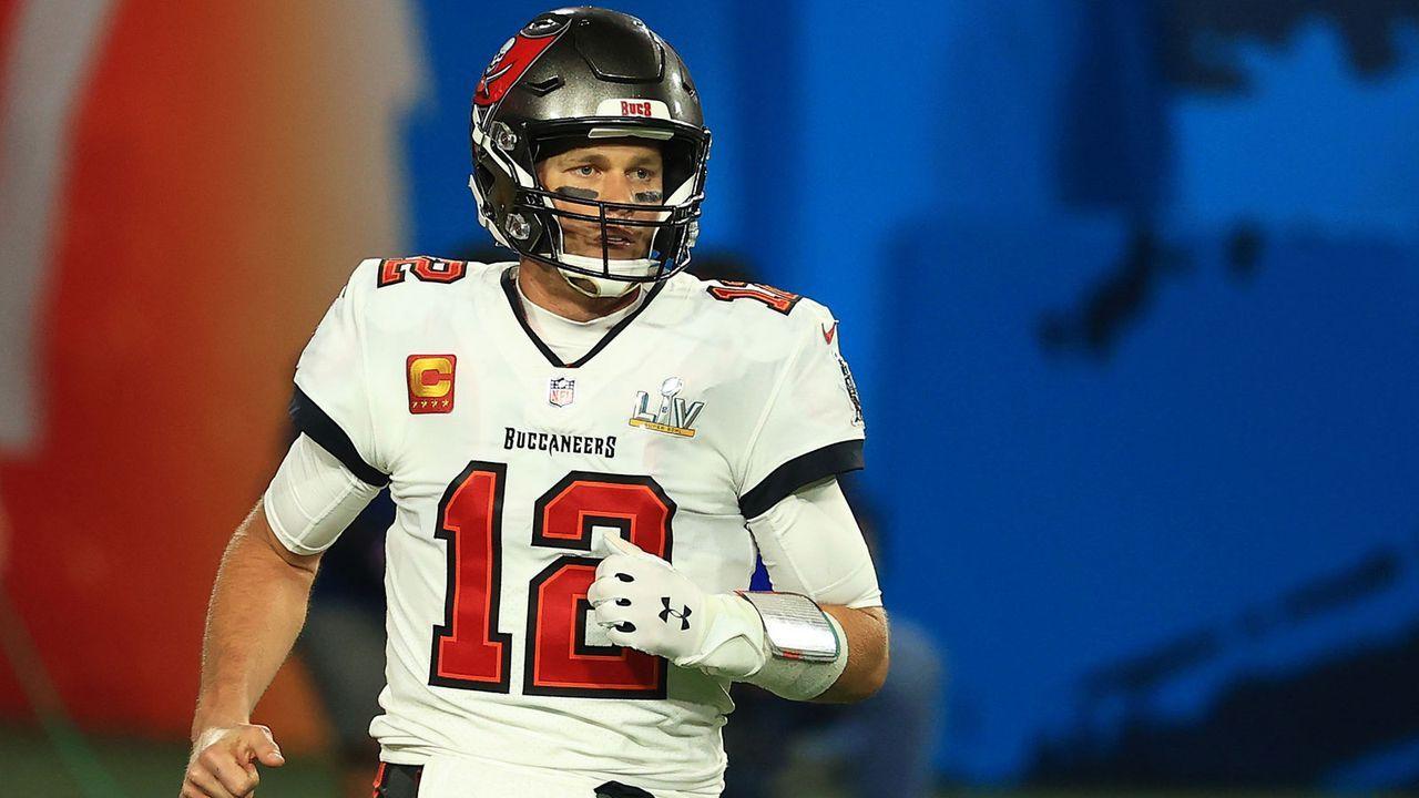 Geteilter 4. Platz: Tom Brady (Quarterback, Tampa Bay Buccaneers) - Bildquelle: Getty Images
