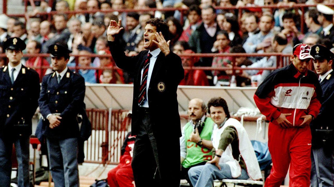 Fabio Capello (AC Mailand 1991-96, 1997-98) - Bildquelle: Getty Images