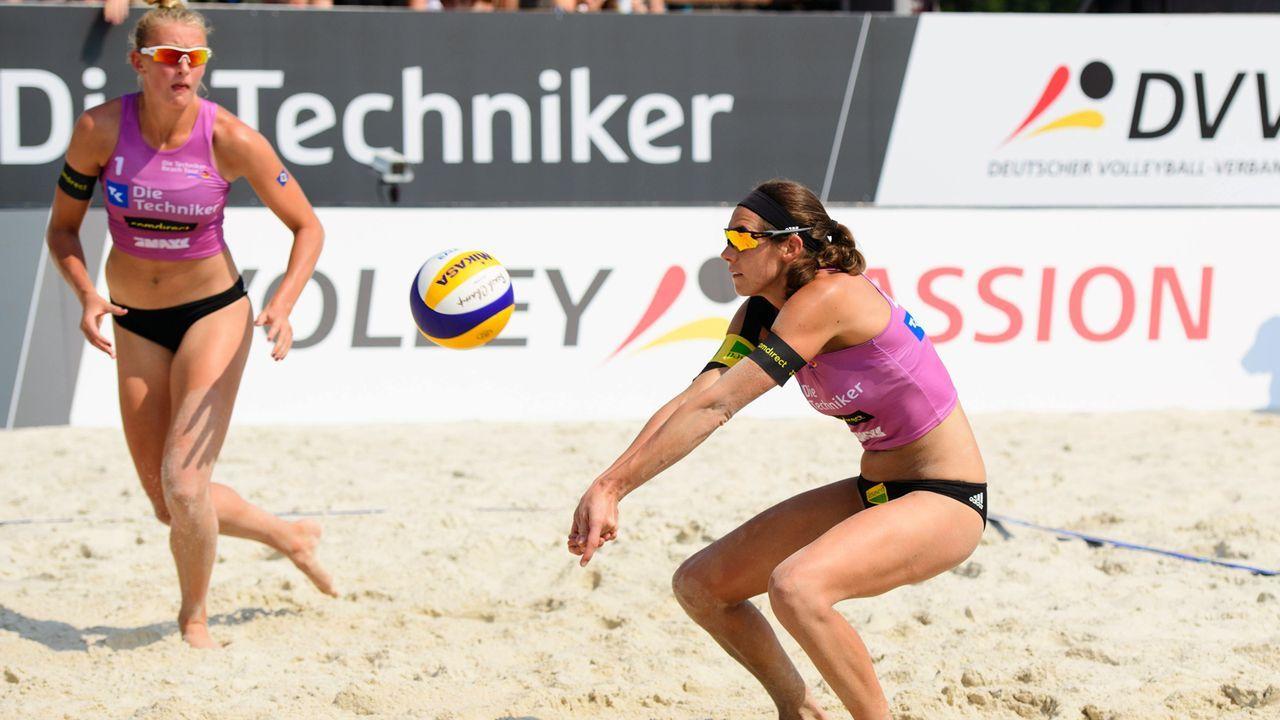 Kira Walkenhorst und Leonie Körtzinger - Bildquelle: imago/Conny Kurth