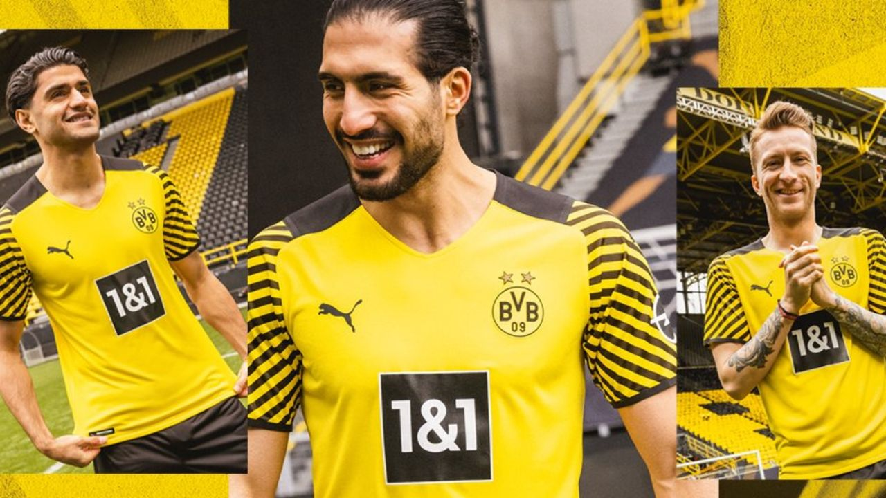 Borussia Dortmund: Streifen am Ärmel und ganz viel Gelb - Bildquelle: twitter.com/BVB