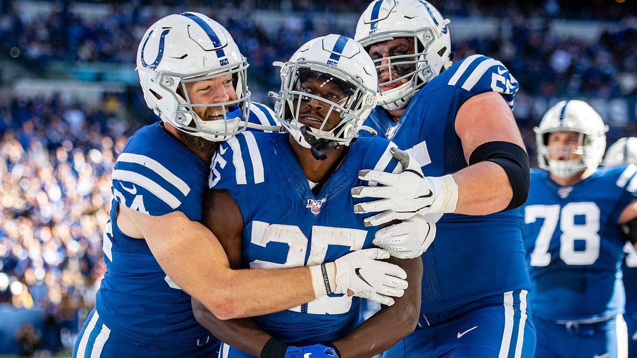 Platz 1: Indianapolis Colts - Bildquelle: 2019 Getty Images