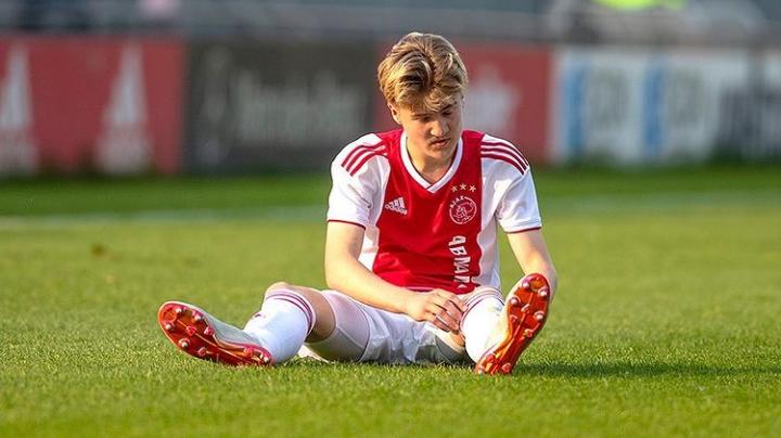 Julian Rijkhoff (Ajax Amsterdam) - Bildquelle: Instagram Julian Rijkhoff