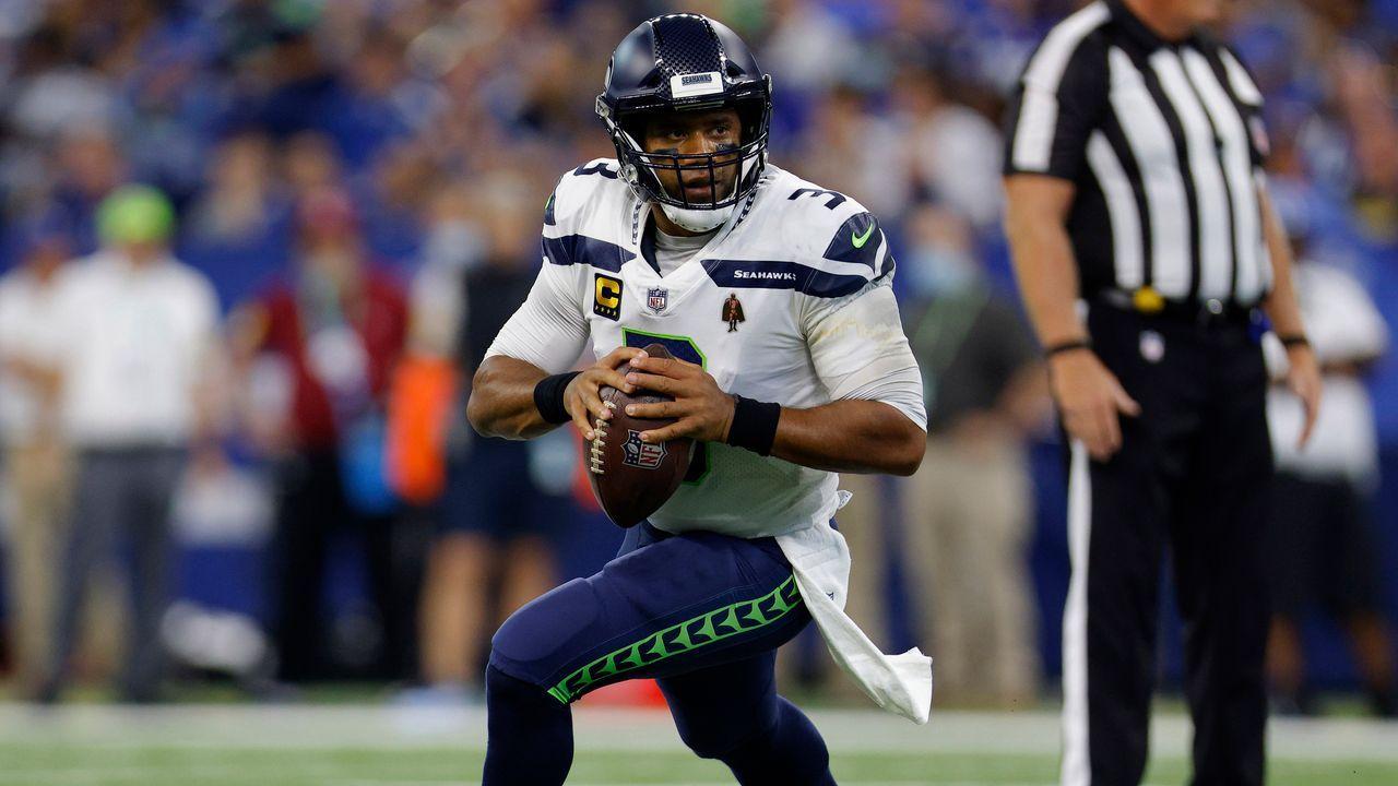 1. Spieltag - Russell Wilson (Seattle Seahawks) - Bildquelle: 2021 Getty Images