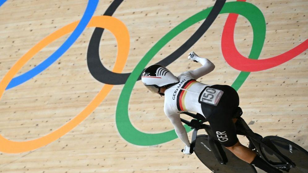 Weltrekord für Brennauer (Bild) und den Bahnrad-Vierer - Bildquelle: AFPSIDGREG BAKER