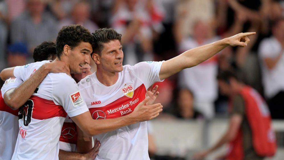 Der VfB gewann gegen St. Pauli - Bildquelle: PIXATHLONPIXATHLONSID
