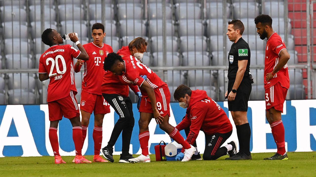 1. Bayerns Personallage entschärft sich - Bildquelle: Imago Images