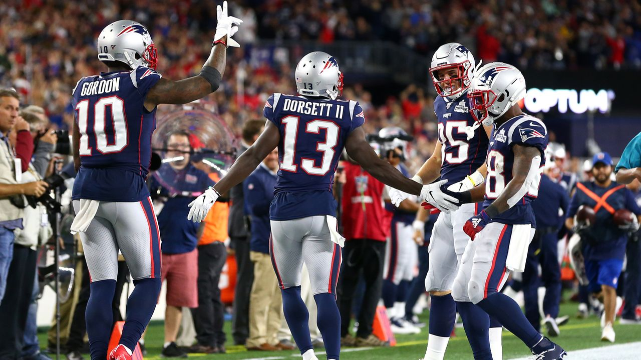 Gewinner: Receiver der New England Patriots - Bildquelle: 2019 Getty Images