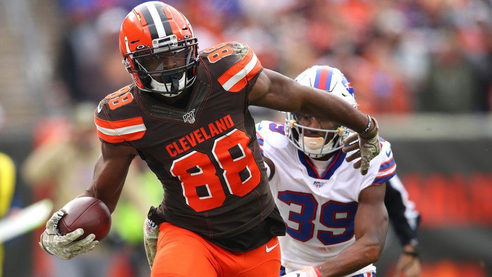 Die Cleveland Browns trennen sich unter anderem vonDemetrius Harris. - Bildquelle: 2019 Getty Images