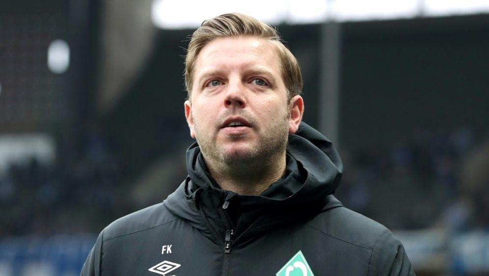 Werder-Trainer Florian Kohfeldt bleibt optimistisch - Bildquelle: PIXATHLONPIXATHLONSID