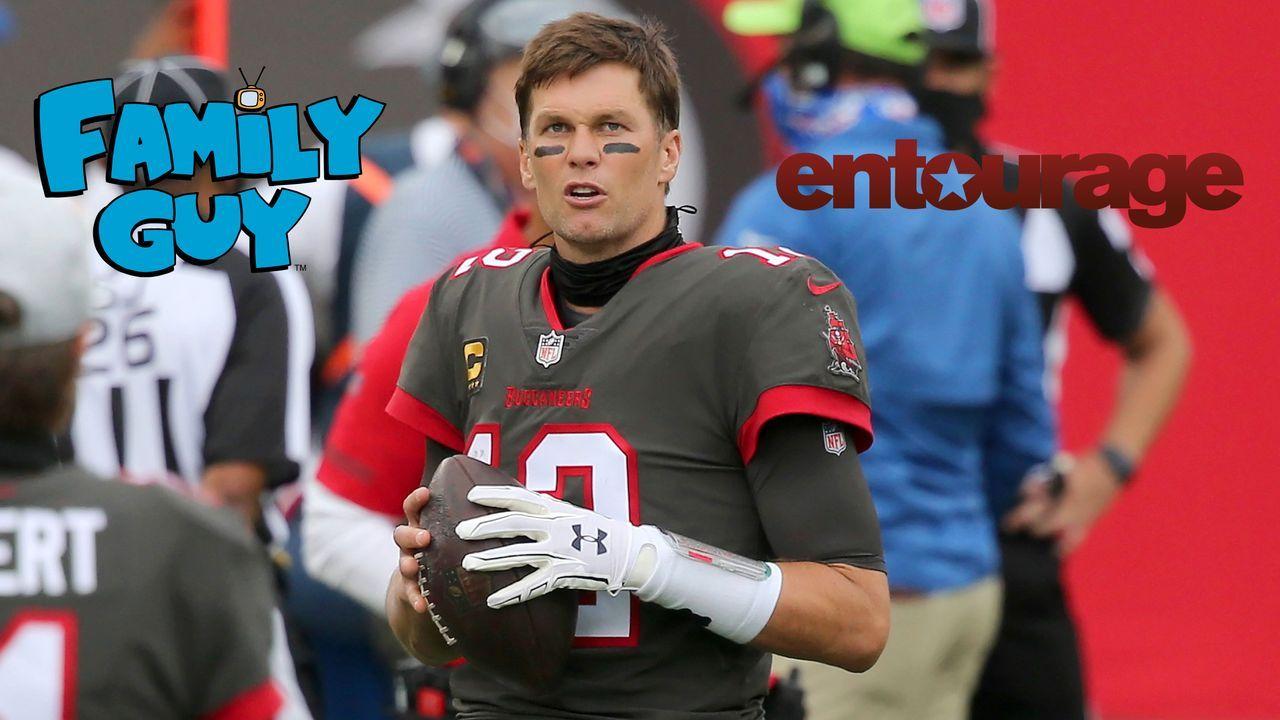 """Tom Brady (""""Family Guy"""" & """"Entourage"""") - Bildquelle: imago images/Icon SMI"""