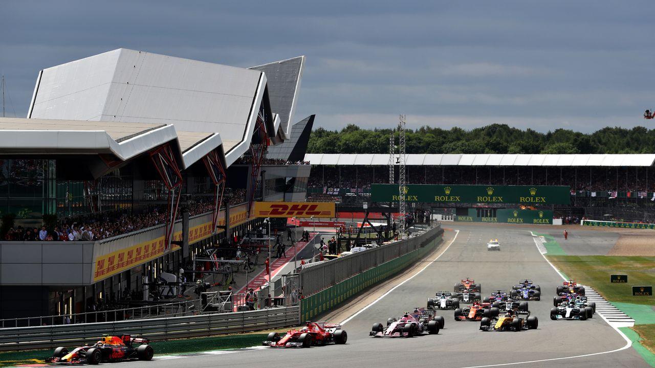 Silverstone Circuit Silverstone, Großbritanien - Bildquelle: 2017 Getty Images
