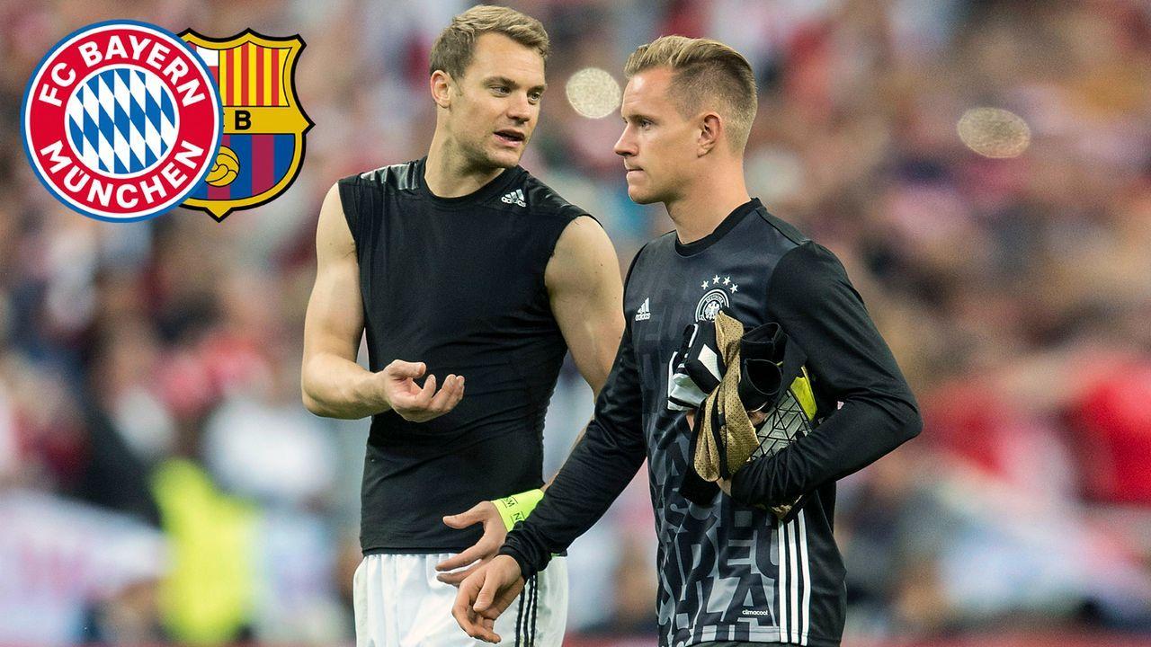 Neuer vs. ter Stegen: Die Starkeeper von Bayern und Barca im Zahlenvergleich - Bildquelle: imago images/Sven Simon