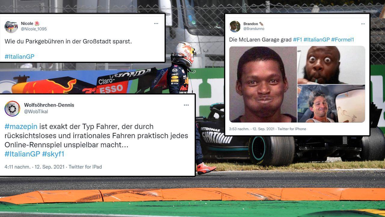 Netzreaktionen zur Formel 1 in Monza - Bildquelle: imago images/Laci Perenyi