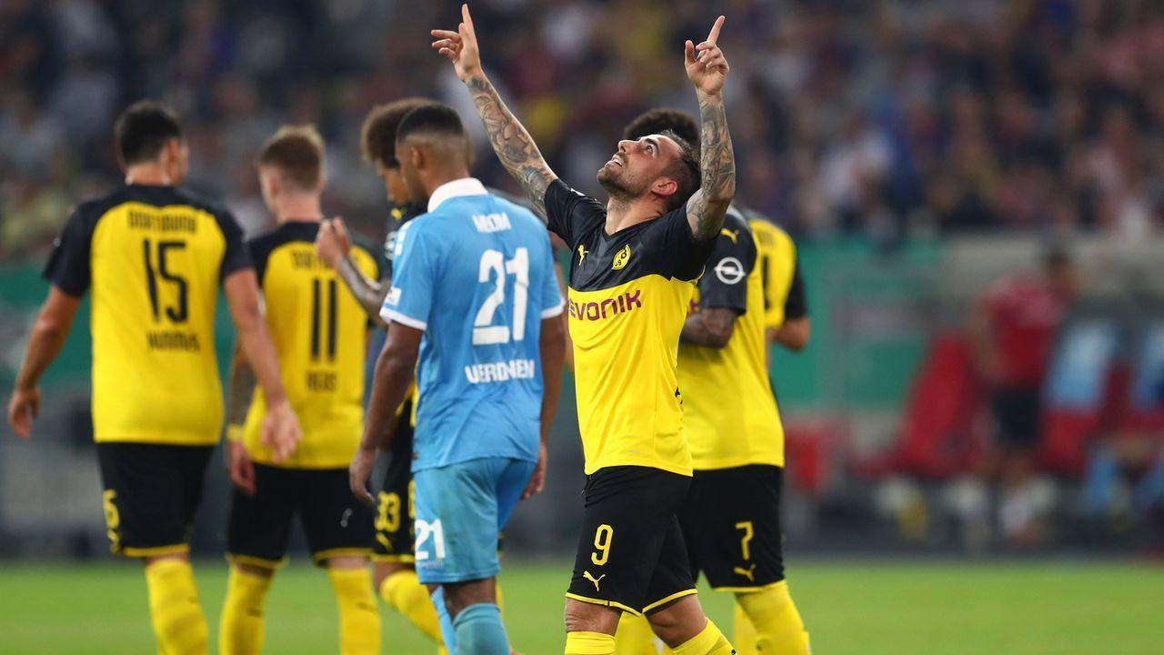 DFB-Pokal 2019/20: Borussia Dortmund beim KFC Uerdingen in der Einzelkritik - Bildquelle: Imago
