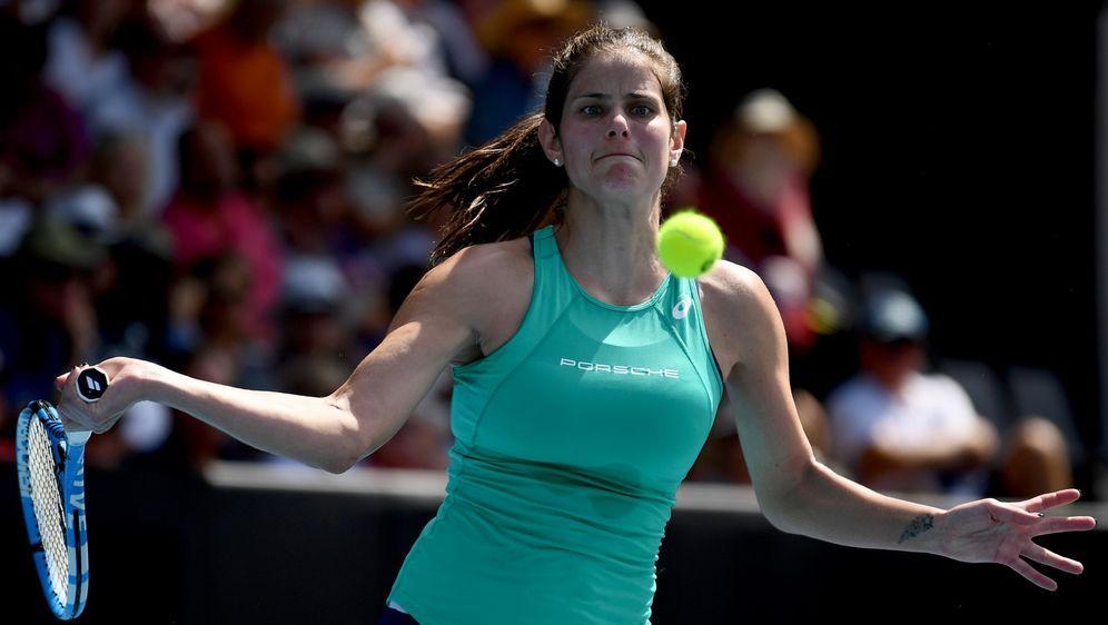 Im Viertelfinale des WTA-Turniers in Auckland ausgeschieden: Julia Görges. - Bildquelle: 2020 Getty Images