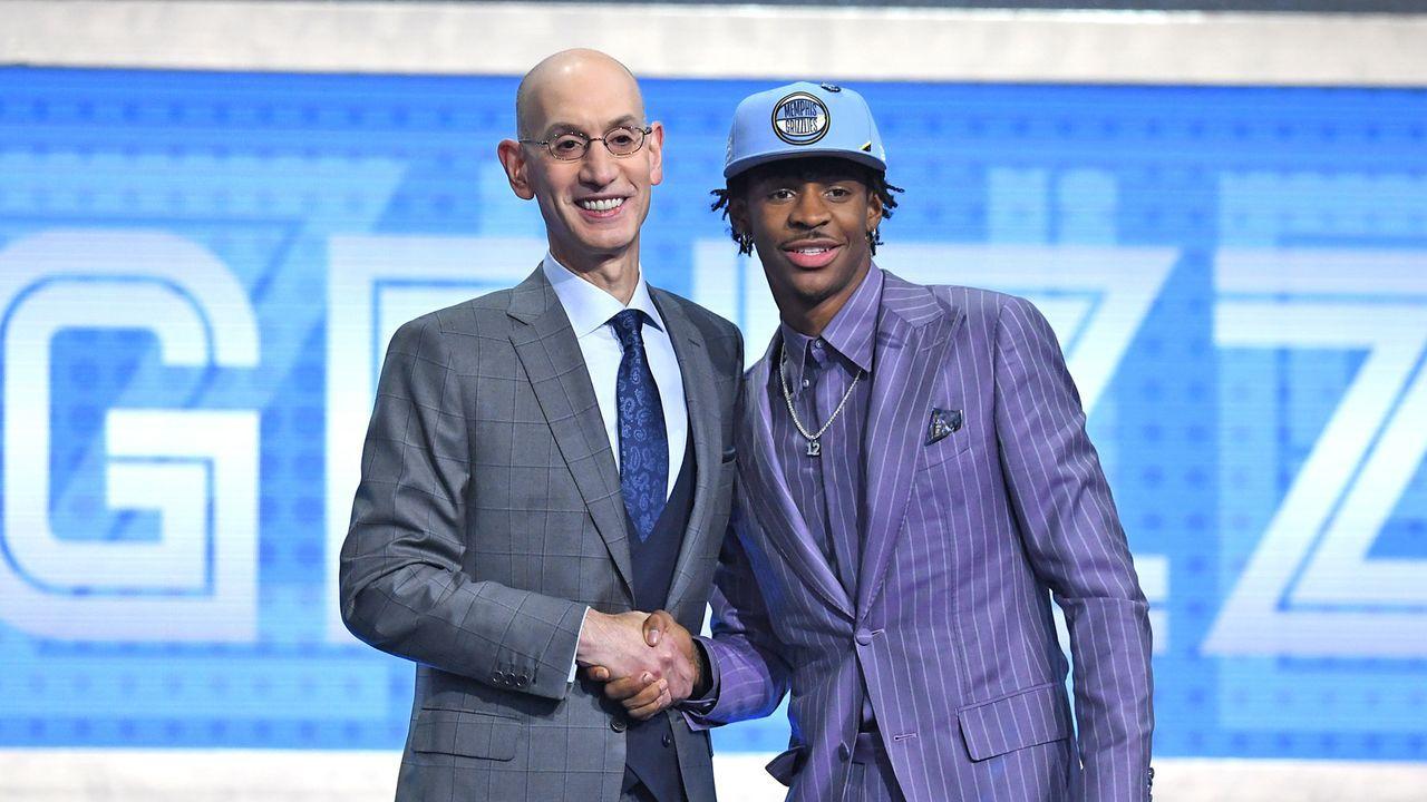 Pick 2: Ja Morant - Memphis Grizzlies - Bildquelle: 2019 Getty Images