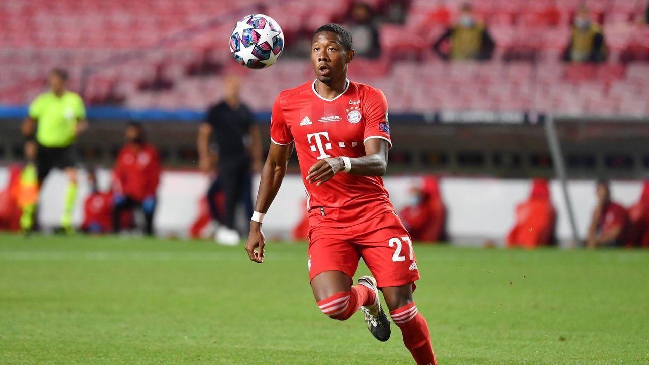 David Alaba (FC Bayern München) - Bildquelle: SVEN SIMON/ Frank Hoermann/ Pool