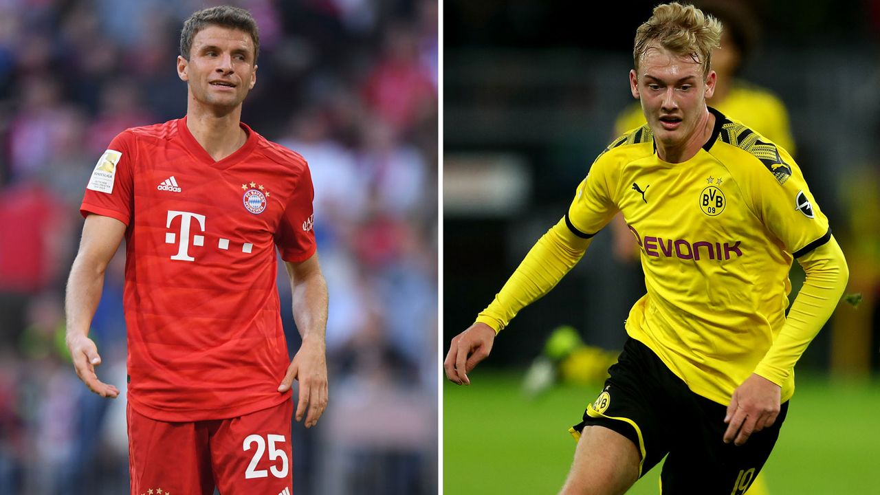 Zentrales offensives Mittelfeld: Thomas Müller vs. Julian Brandt  - Bildquelle: Getty Images