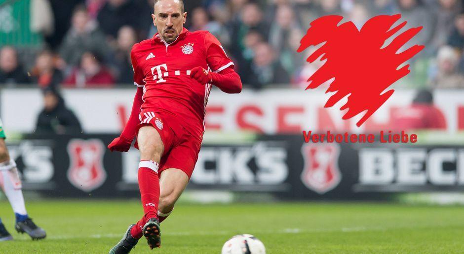 Franck Ribery - Verbotene Liebe - Bildquelle: imago/DeFodi