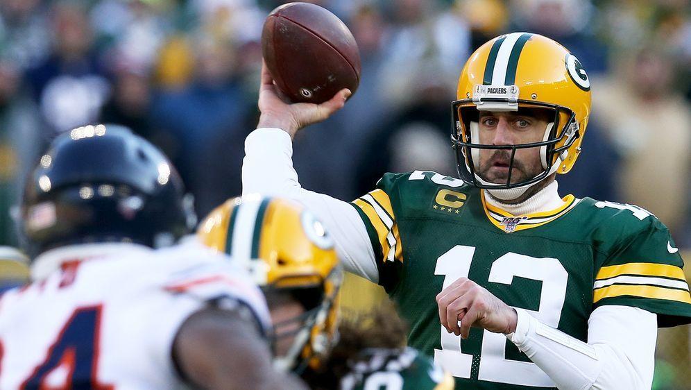 Sieg für Aaron Rodgers und die Green Bay Packers. - Bildquelle: 2019 Getty Images