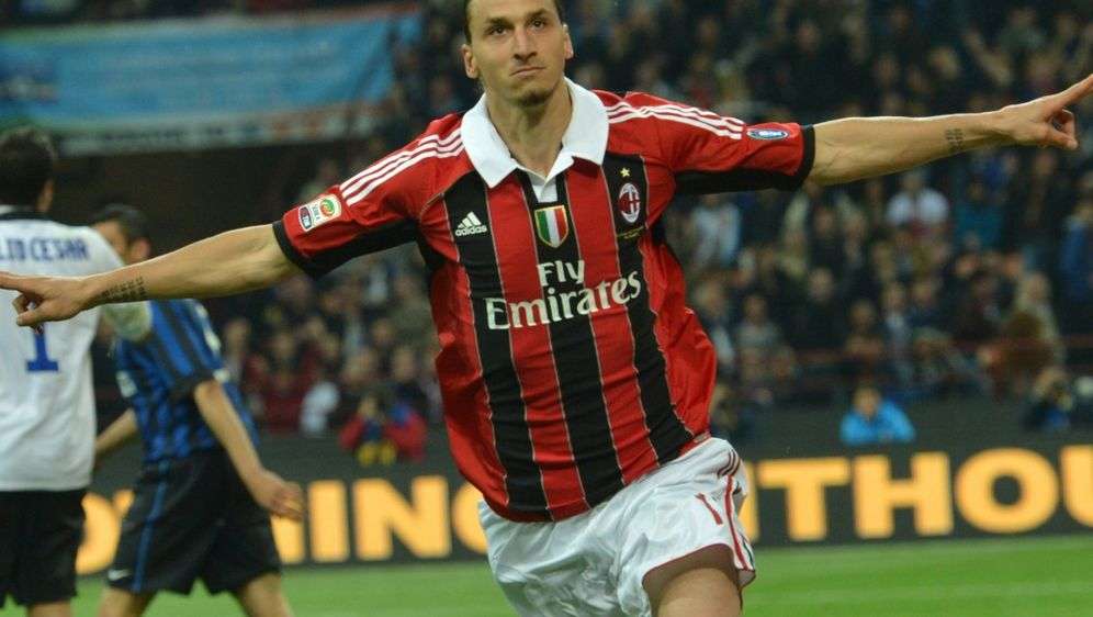 Zlatan Ibrahimovic könnte zum AC Mailand zurückkehren - Bildquelle: AFPSIDGIUSEPPE CACACE