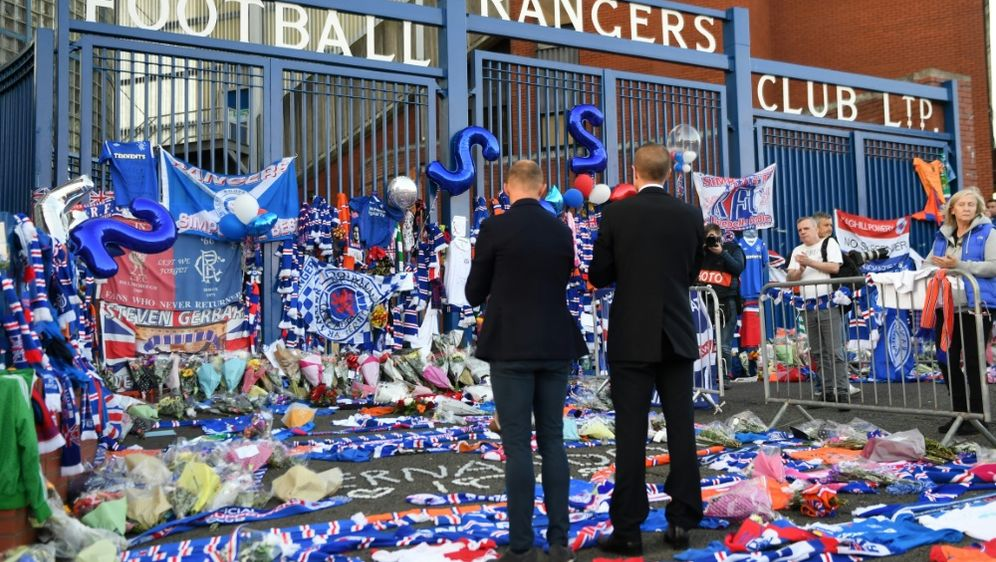 Rangers huldigen verstorbenem Ex-Kapitän - Bildquelle: AFPSIDANDY BUCHANAN