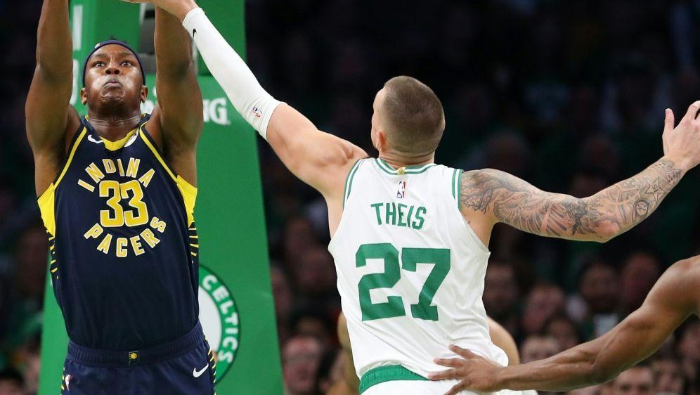 Theis und seine Boston Celtics stehen im Viertelfinale - Bildquelle: GETTY IMAGES NORTH AMERICAGETTY IMAGES NORTH AMERICASIDMaddie Meyer