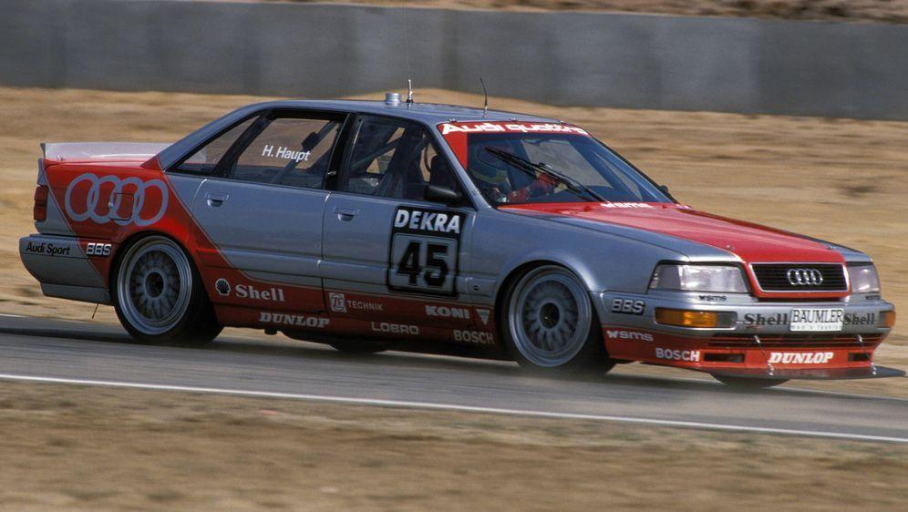 Hubert Haupt fuhr erstmals von 1991 bis 1992 in der DTM. - Bildquelle: imago/WEREK