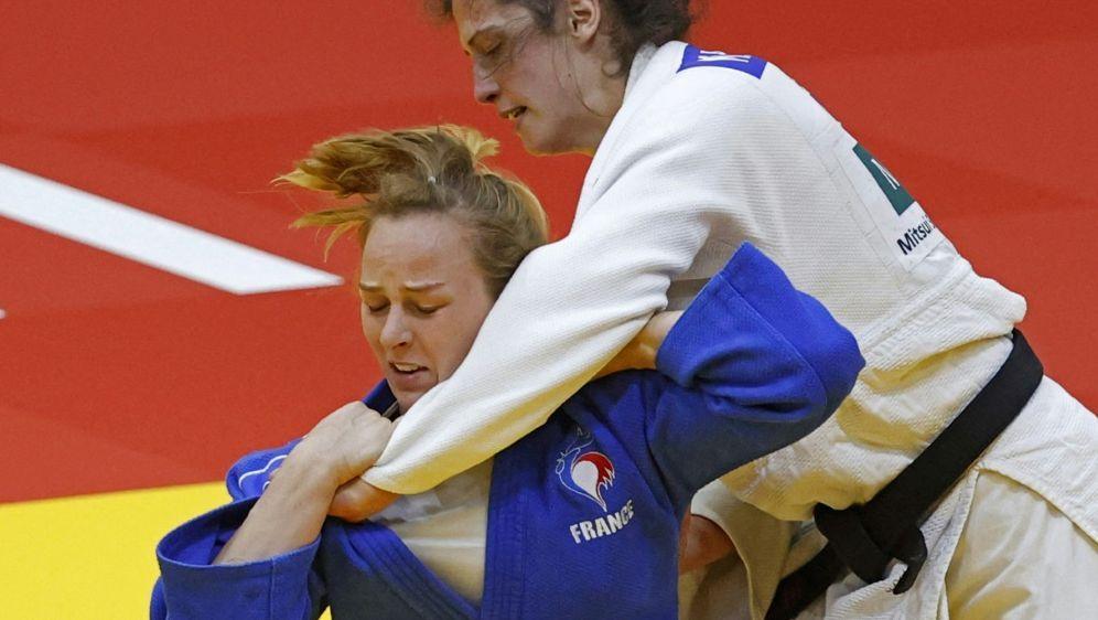 Miriam Butkereit (r.) hat bei der WM Bronze verpasst - Bildquelle: AFPSIDJACK GUEZ
