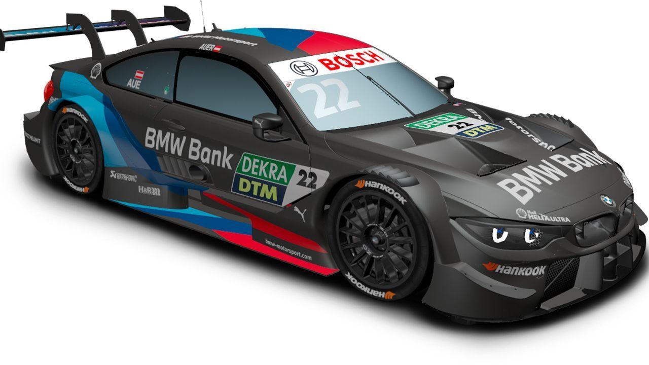 Lucas Auer (BMW Team RMR) - Bildquelle: DTM