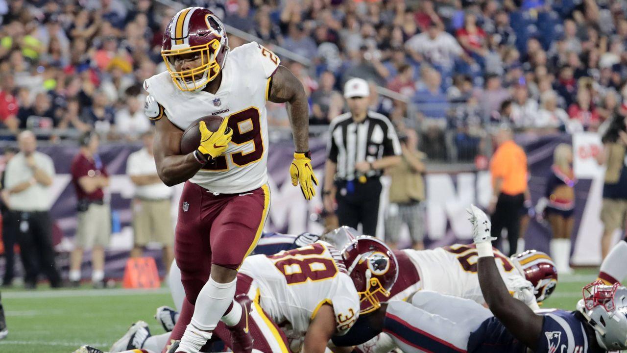 Derrius Guice (Washington Redskins) - Bildquelle: imago/Icon SMI