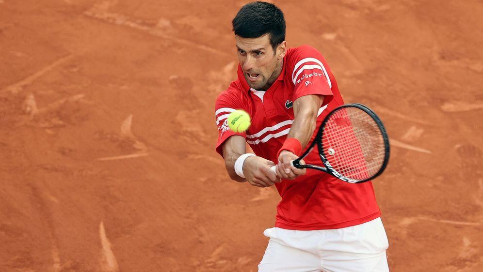 Novak Djokovic steht im Finale der French Open - Bildquelle: Getty Images